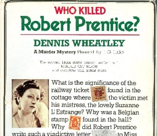 Who killed Robert Prentice?