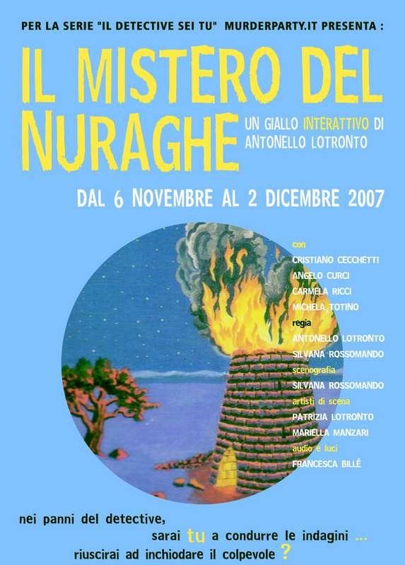 Il mistero del Nuraghe - Locandina